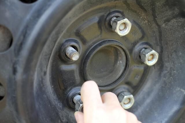 タイヤの取付